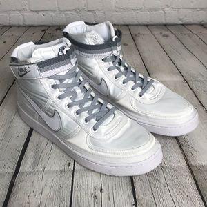 NEW Nike Vandal Hi Supreme Mens White satin